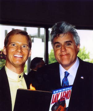 tim hall corporate baltimore magician with jay Leno