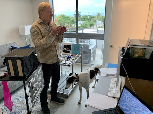 Amazing Baltimore Magician for 8 year old virtual party