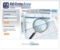 Propertyware Owners Screen
