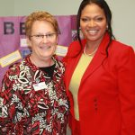 BETA Teen Center President Ruth Patrick and Dr. Pamela McCauley Bush