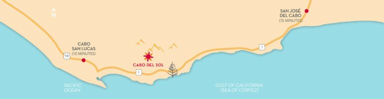 Cabo Del Sol Four Seasons Map