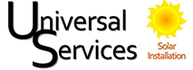 Universal Services Solar Logo