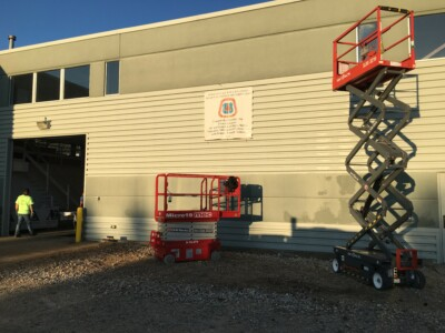 OHR Rents scissor lifts in Ohio