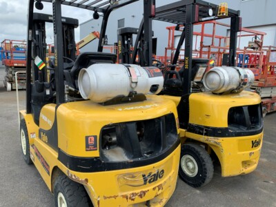 Forklifts for rent at OHR Rents
