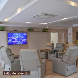 Salão de televisão