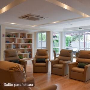 Salão para leitura
