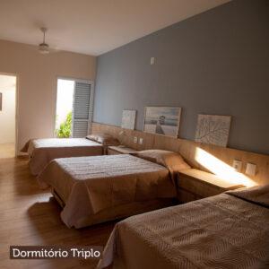 Dormitório Triplo