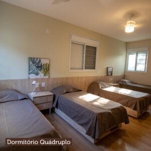 Dormitório Quadruplo