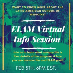 Feb 6 ELAM info