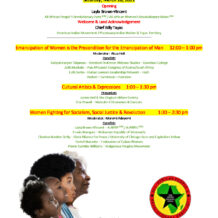 March 20: African Women's Emancipation Day