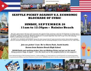 Sept. 26 Seattle @ Be'er Sheva Park, South Seattle