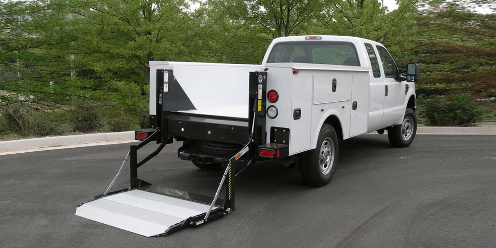 Palfinger Pickup Truck with Liftgate