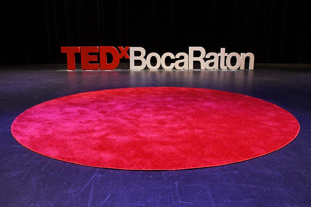 TedX Boca Raton Stage