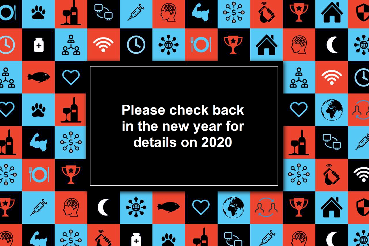 Please check back in the new year for details on 2020