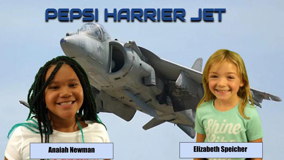 The Mega Math of the Pepsi Harrier Jet
