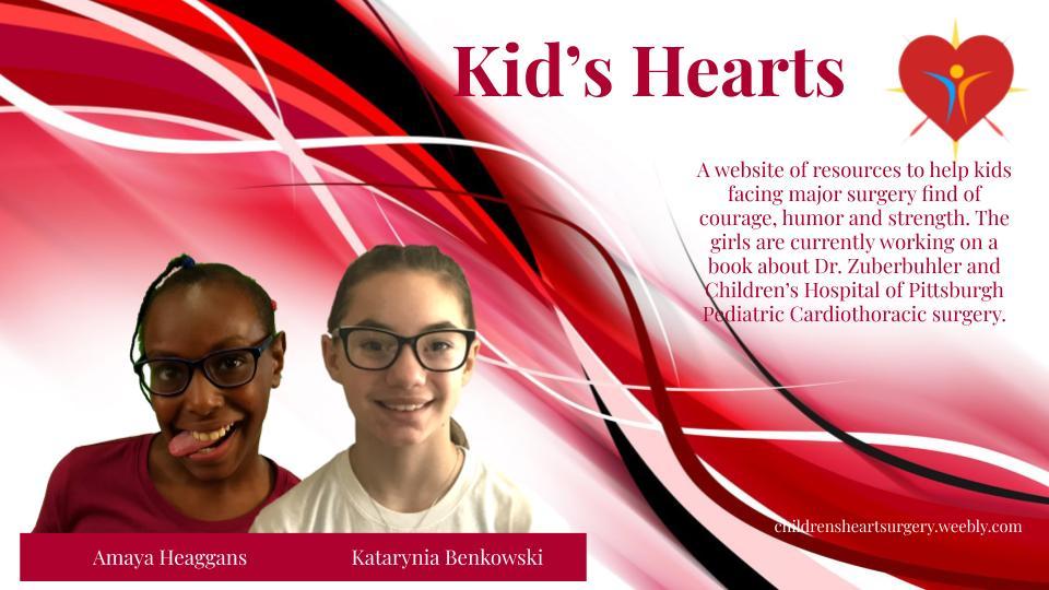 Kids Hearts 2020 Progress Report