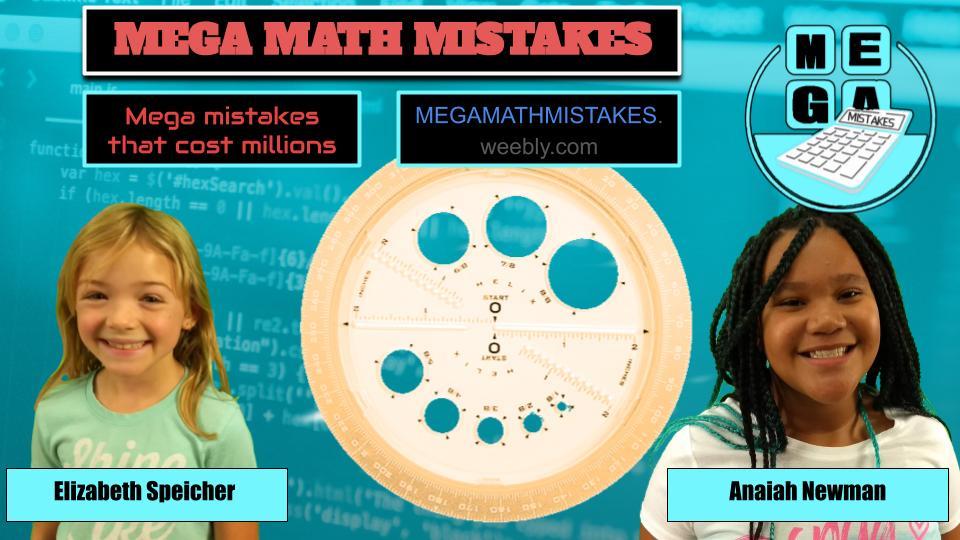 Mega Math Mistakes 2019-2020