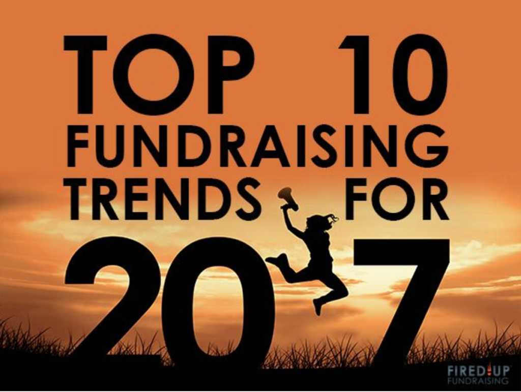 Top 10 Fundraising Trends for 2017