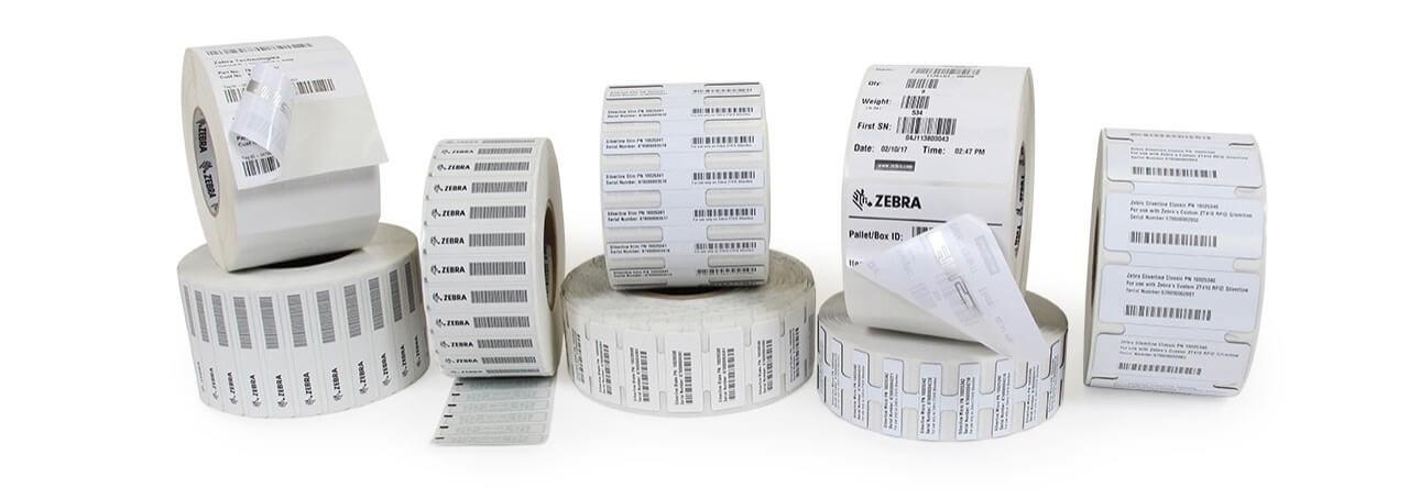 Zebra paper labels