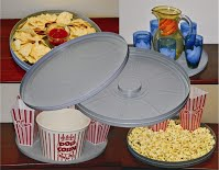 Reel Canister Serving Tray