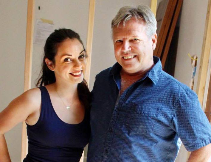 Paige and Doug on Renovation Gap