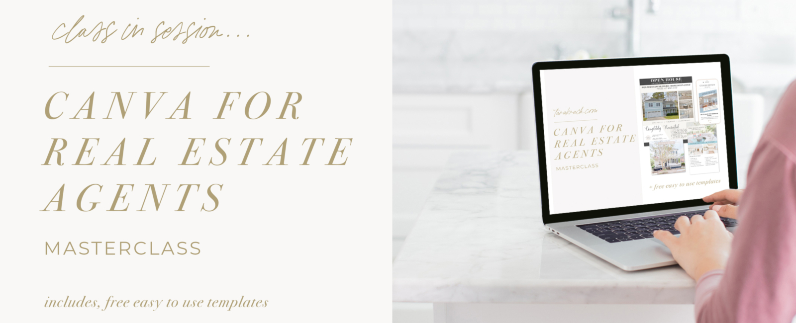 canva for real estate agents masterclass