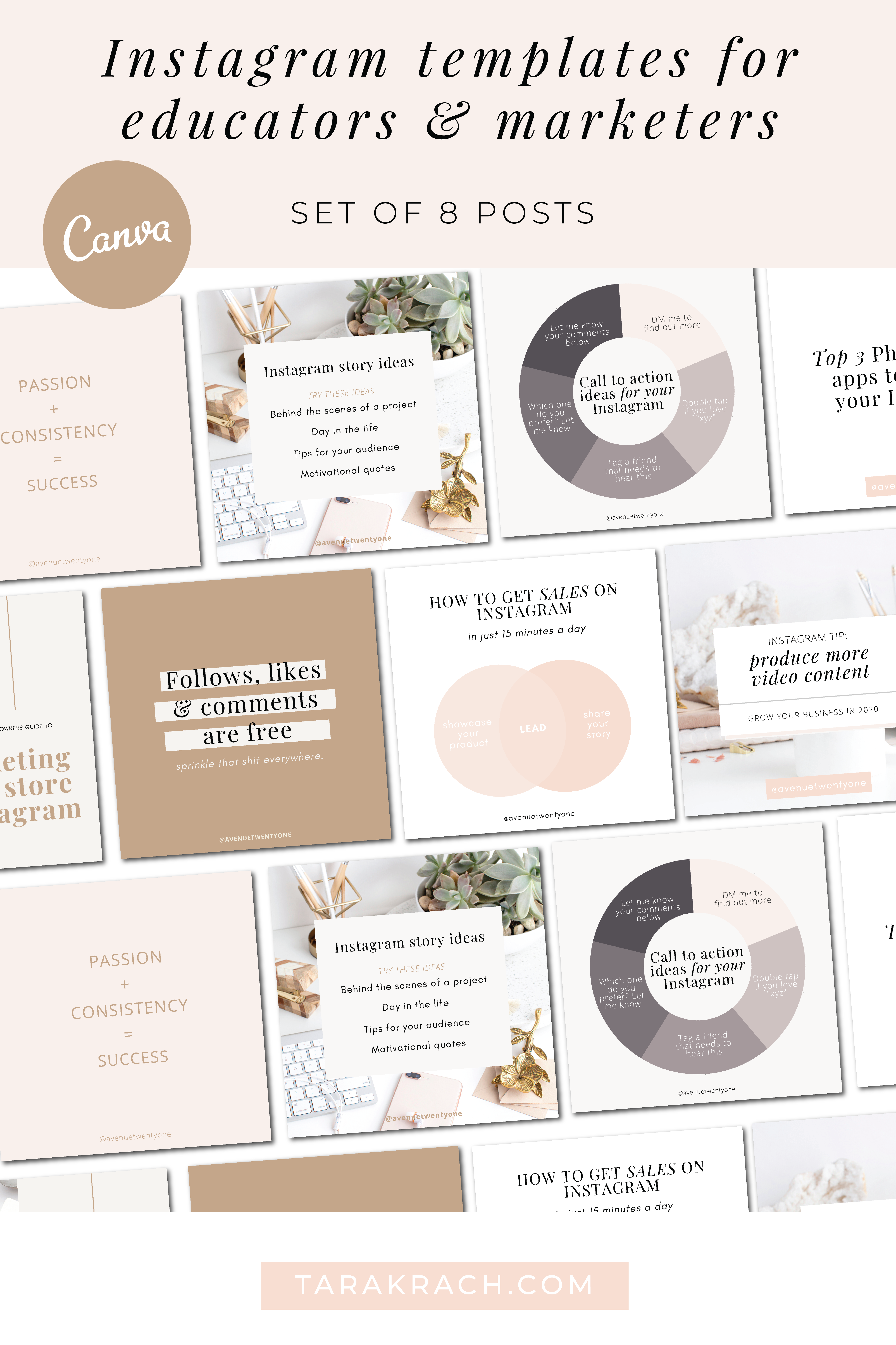 Canva templates for marketers