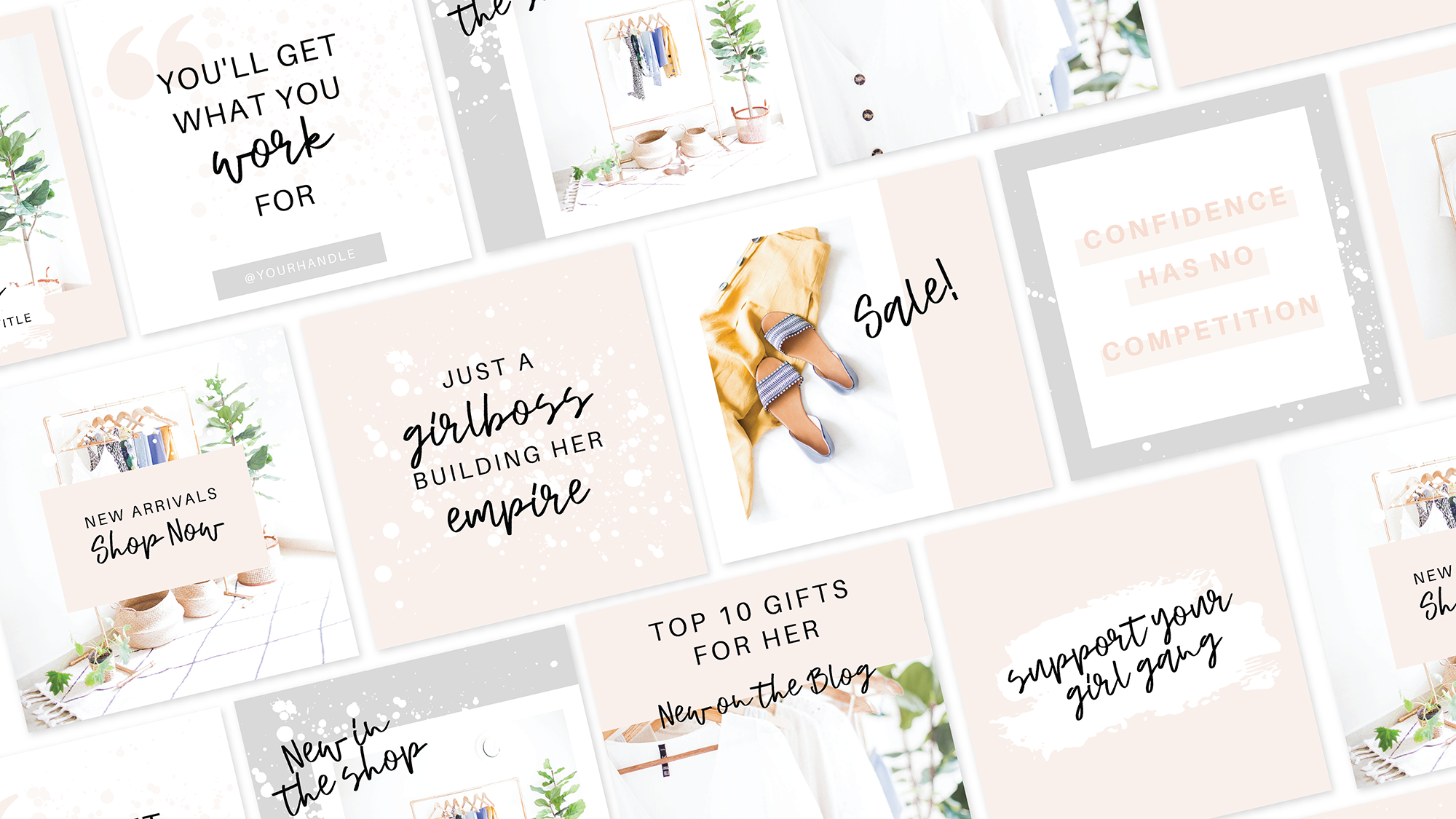 Canva templates for girl bosses