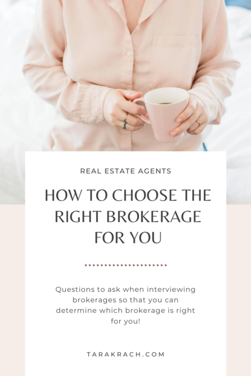 Questions You Should Ask When Interviewing Brokerages