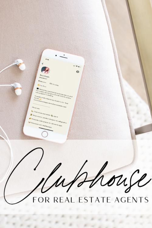 The new Clubhouse social media app for Real Estate Agents
