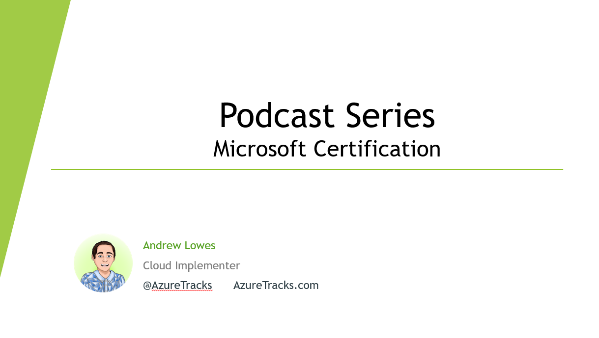 Microsoft Certifications Podcast