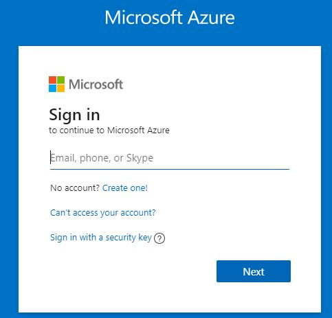 Microsoft Azure logon Company Branding