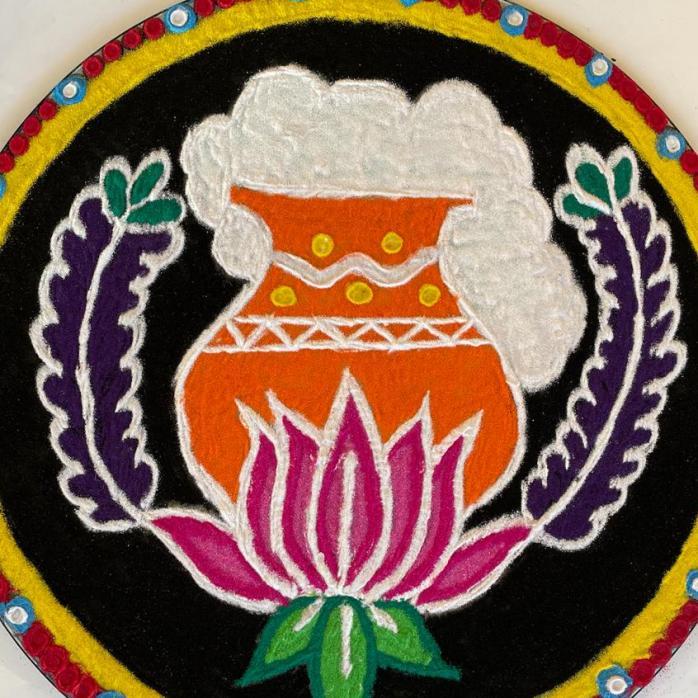 Kolam by 'Elakkiya'