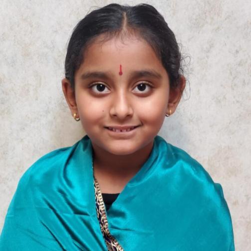 Avanthika Pradeep as ' J. Jayalalithaa'