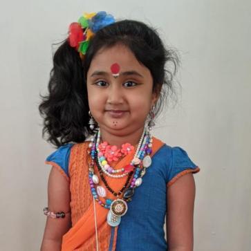 Nethra Balaji as 'Korathi'