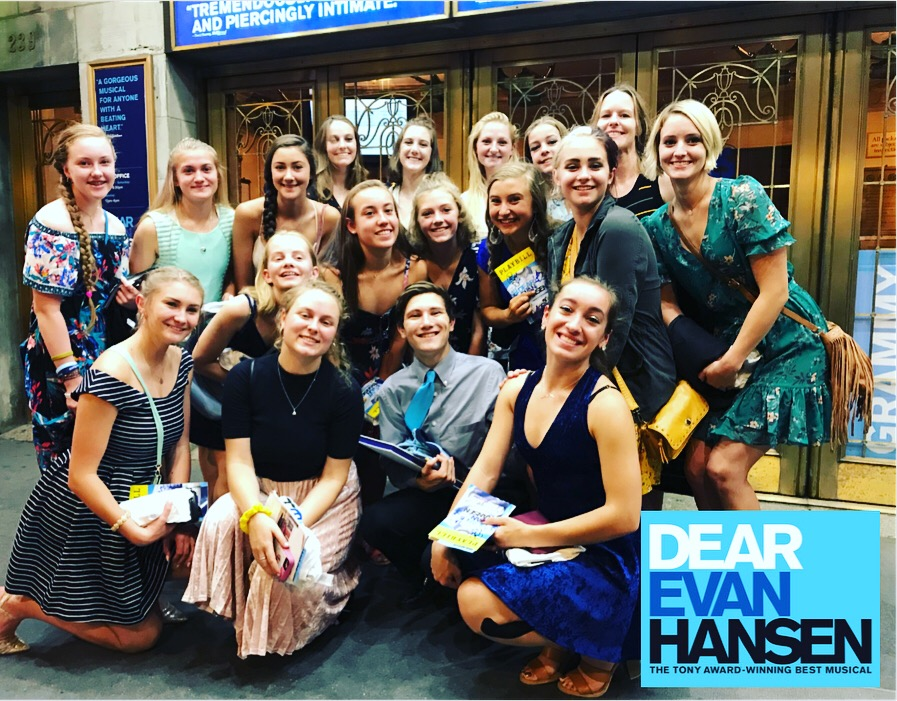 2018 RMDT New York Experience; Dear Evan Hansen