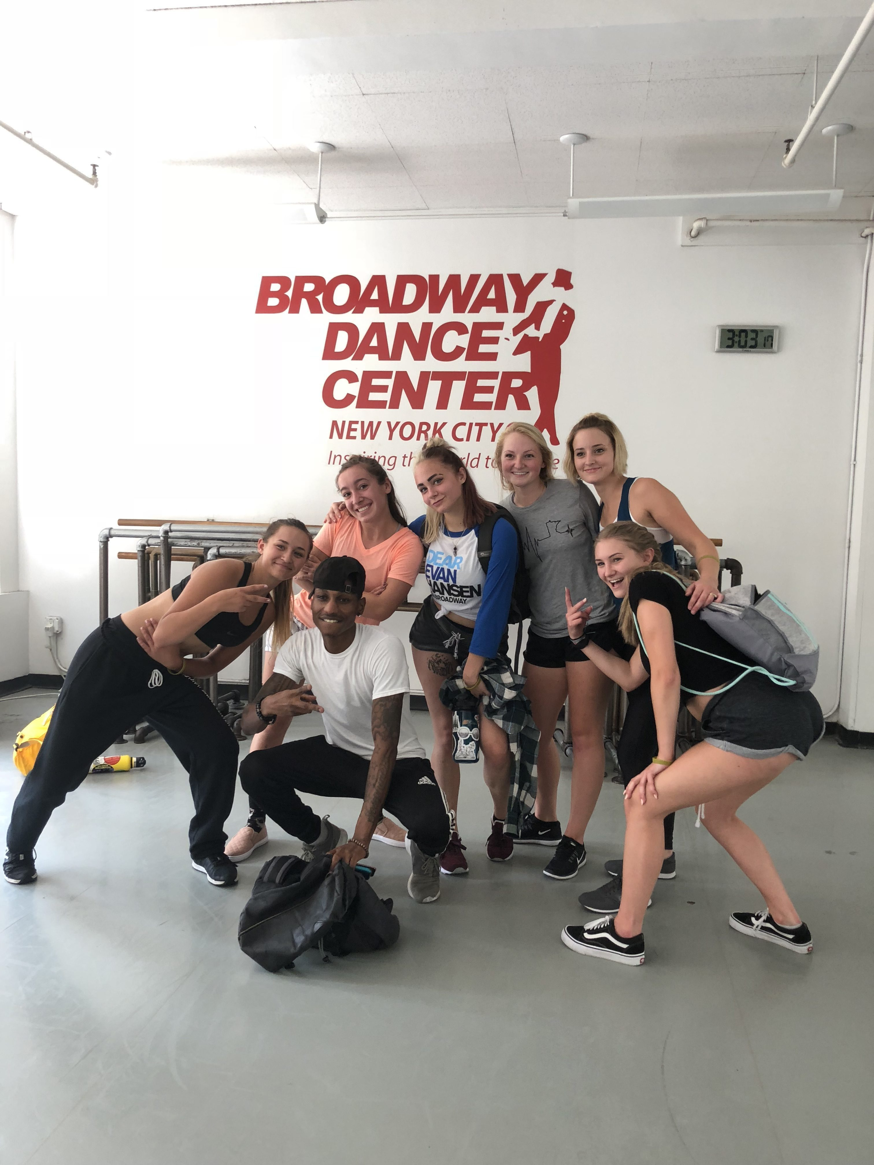 Dance classes with David Thomas @ Broadway Dance Company in New York