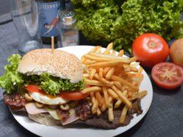 High Cholesterol Meal