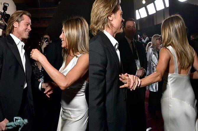 Jennifer Aniston & Brad Pitt Public Reunion Finally Happened!