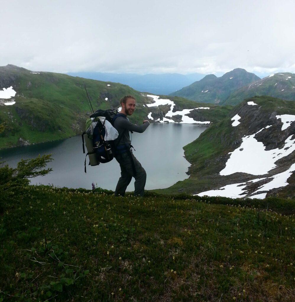 hiking Traverse trail in Ketchikan, Alaska