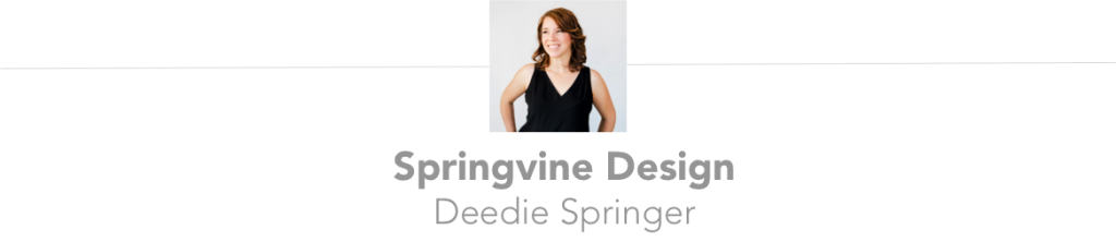 Deedie Springer of Springvine Designs | Engaged Asheville Blog