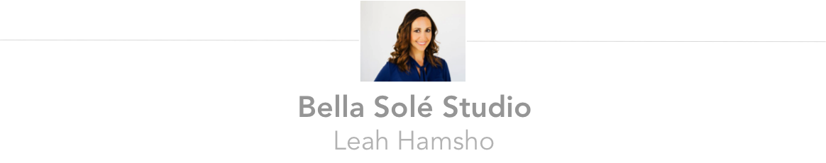 Bella Sole Studio owner Leah Hamsho
