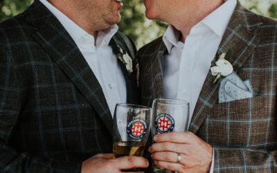 Christian & Jeff's Highland Brewing Wedding