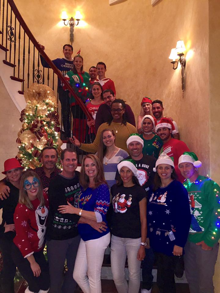 Ugly Christmas Sweater Party 2016