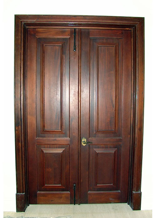 Bellini Mahogany Car Gate Door