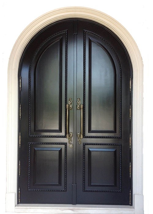 Allison Island Mahogany Entry Door