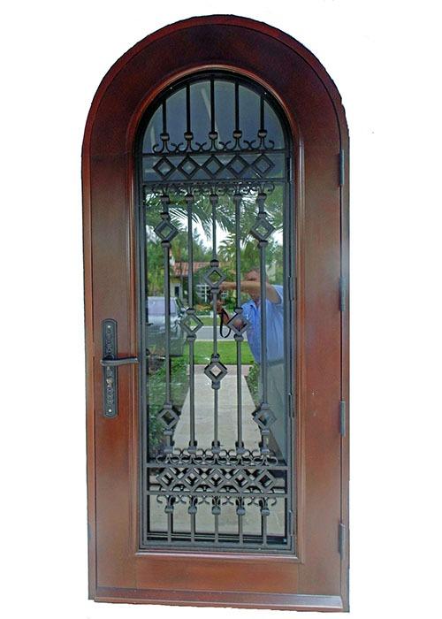 Alton Road Mahogany Exterior Door