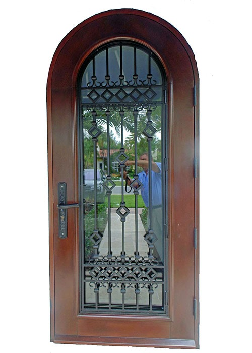 Alton Road Mahogany Exterior Door