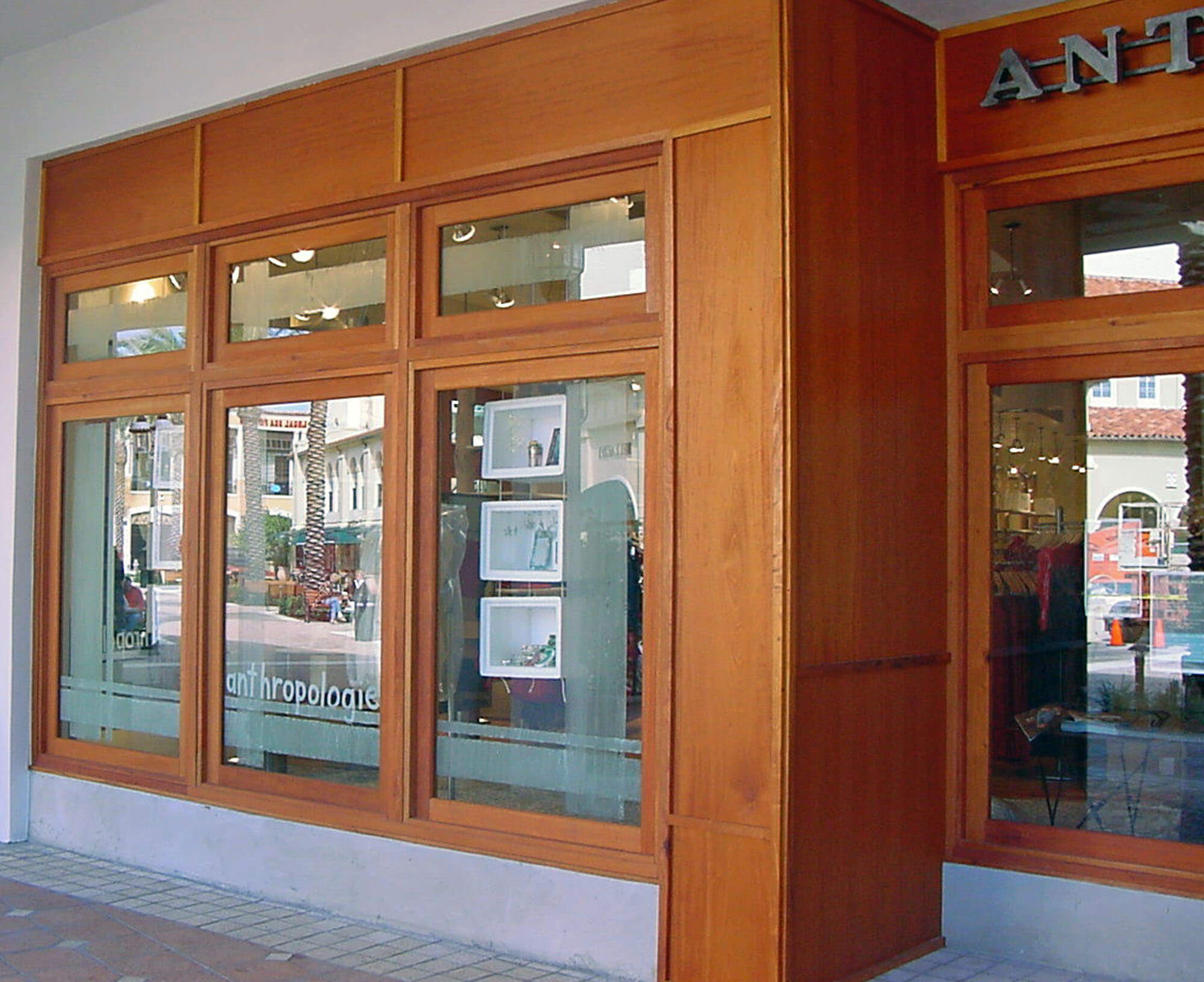 ANTROPOLOGIE STORE FRONT WINDOWS.