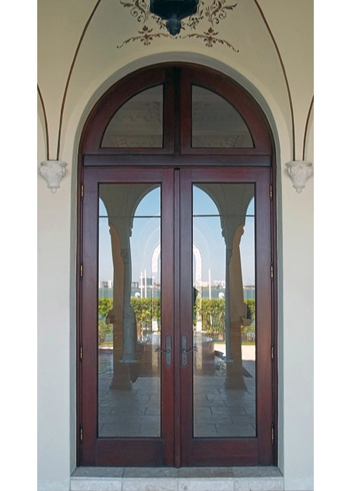 Biscayne Point Mahogany French Doors